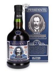 Presidente Marti 23 letni Solera Rum /Dominicana/ 40% / 0,7l