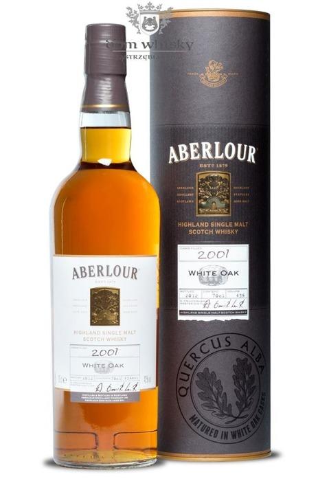 Aberlour White Oak 11-letni (D.2001, B.2012) / 43% / 0,7l