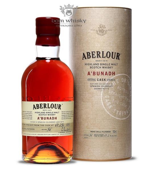 Aberlour a'bunadh Batch # 56 /61,2%/0,7l