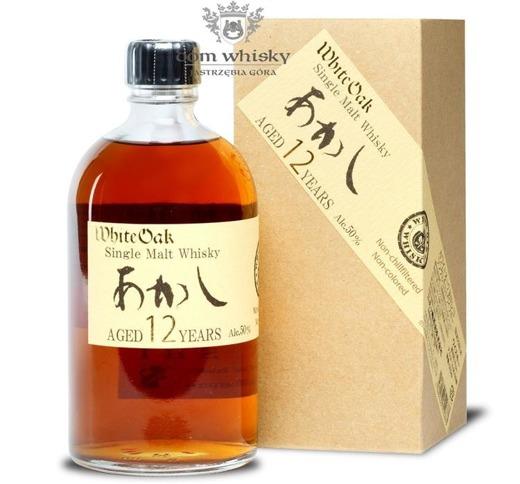 Akashi 12-letni White Oak Single Malt (Japonia-Honsiu) /50%/0,5l