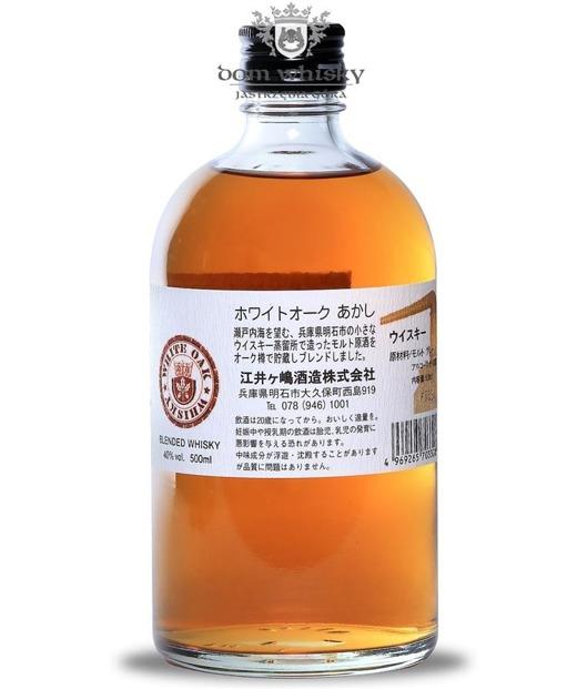 Akashi White Oak Blended (Bez kartonika) /Japan market/40%/0,5l