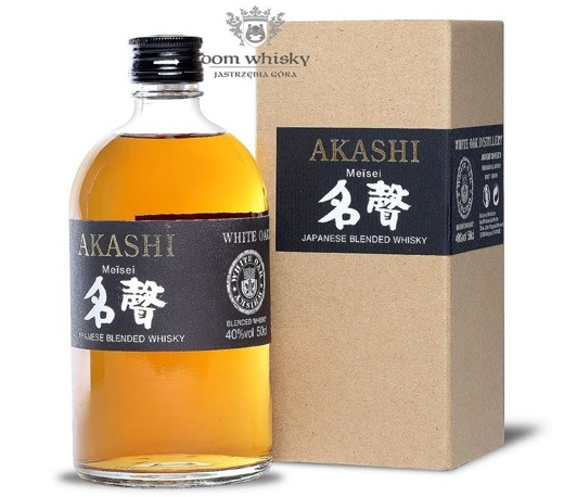 Akashi White Oak Meisei Japanese Blended Whisky / 40% / 0,5l
