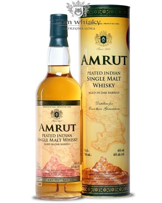 Amrut Indian Peated Single Malt Whisky / 46% / 0,7l