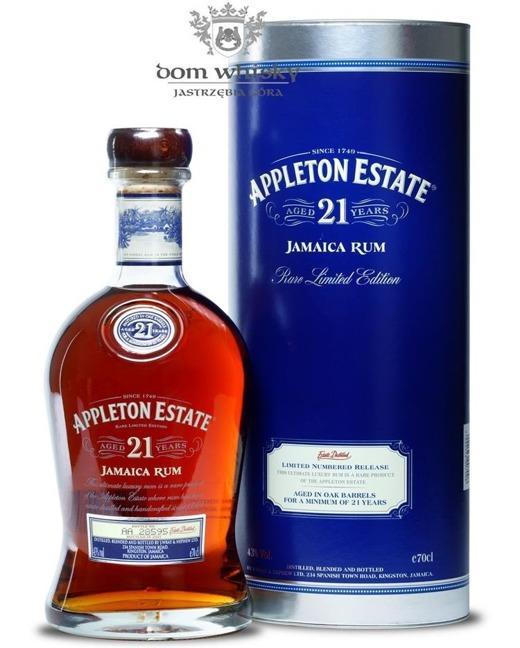 Appleton Estate 21 letni Rare Limited Edition / 43% / 0,7l