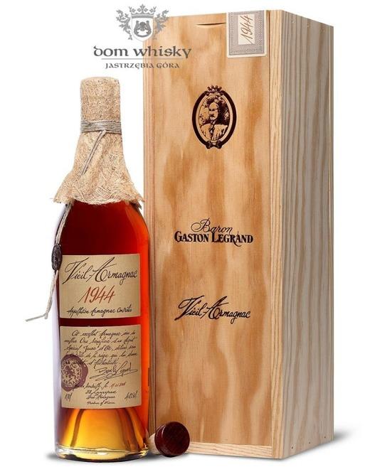 Armagnac Baron Gaston Legrand 1944 / 40% / 0,7l