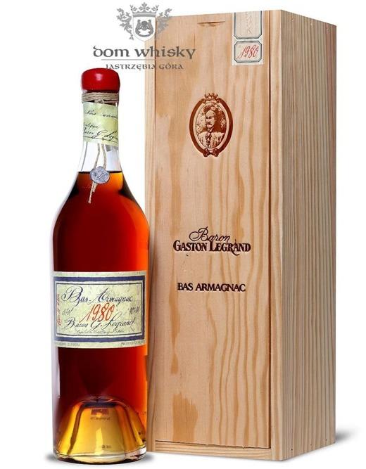 Armagnac Baron Gaston Legrand 1980 / 40% / 0,7l