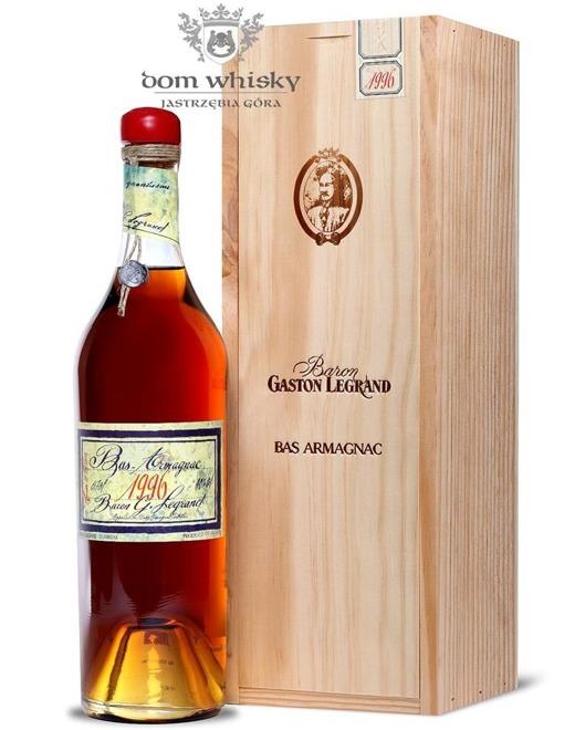 Armagnac Baron Gaston Legrand 1996 / 40% / 0,7l