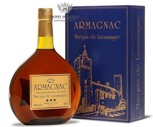 Armagnac Marquis de Lacassagne / 40% / 0,7l