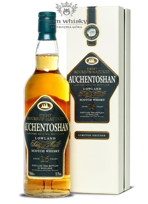 Auchentoshan 16-letni Bourbon Matured / 53,7% / 0,7l