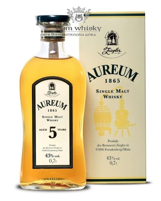 Aureum 5 letni Single Malt (Niemcy) / 43% / 0,7l