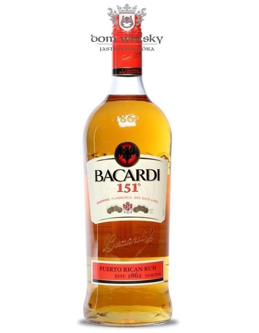 Bacardi 151 / 75,5% / 1,0l