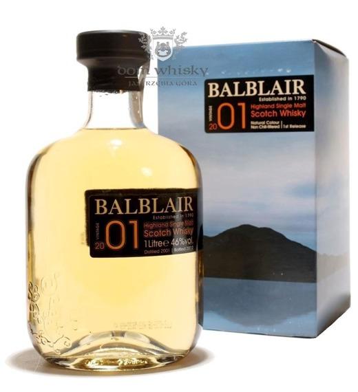 Balblair 2001 (Bottled 2012) / 46% / 1,0l