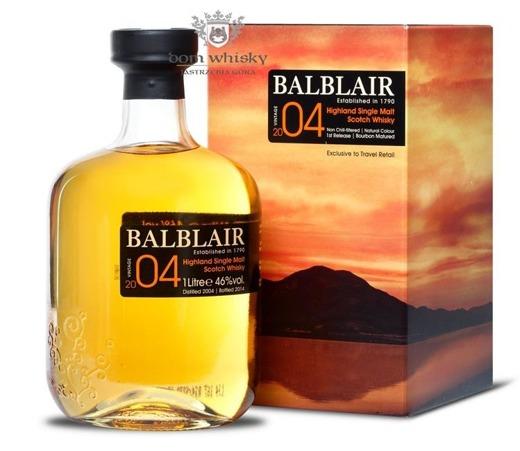 Balblair 2004 (Bottled 2014) 1st Release Bourbon / 46% / 1,0l