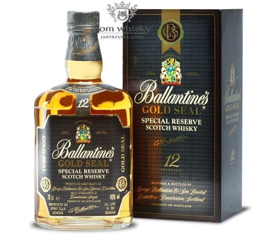 Ballantine's 12-letni Gold Seal / 40% / 0,7l