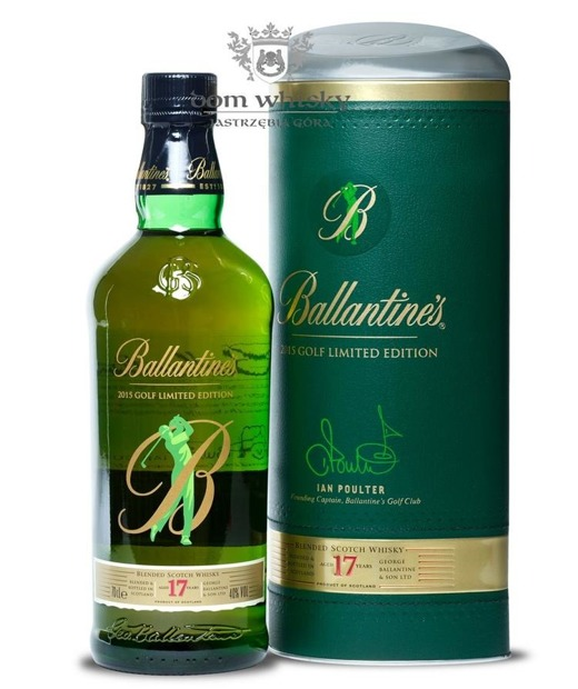Ballantine's 17-letni 2015 Golf Limited Edition / 40% / 0,7l