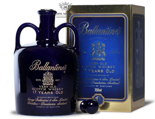 Ballantine's 17-letni Blue Ceramic Decanter / 43% / 0,75l