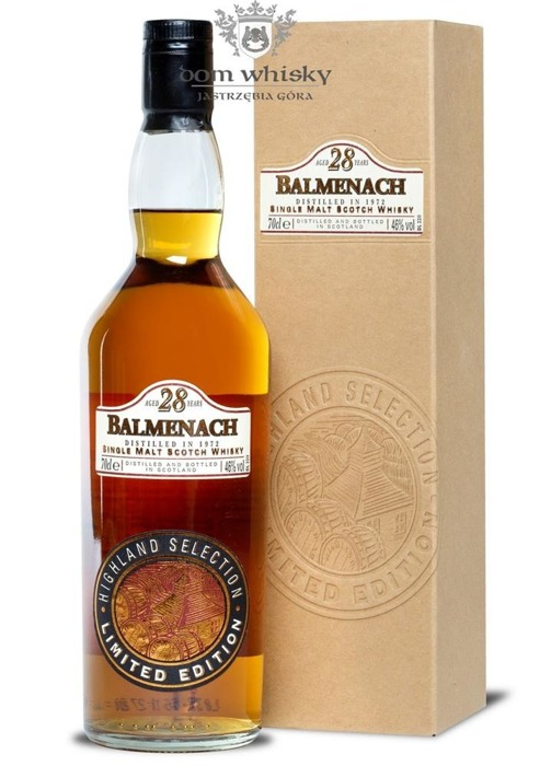 Balmenach 1972, 28-letni, Highland Selection / 46% / 0,7l