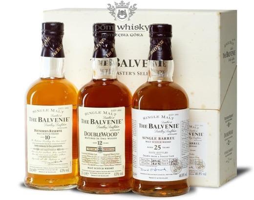 Balvenie Malt Master's Selection / 43%-46,9% / 3x0,2l