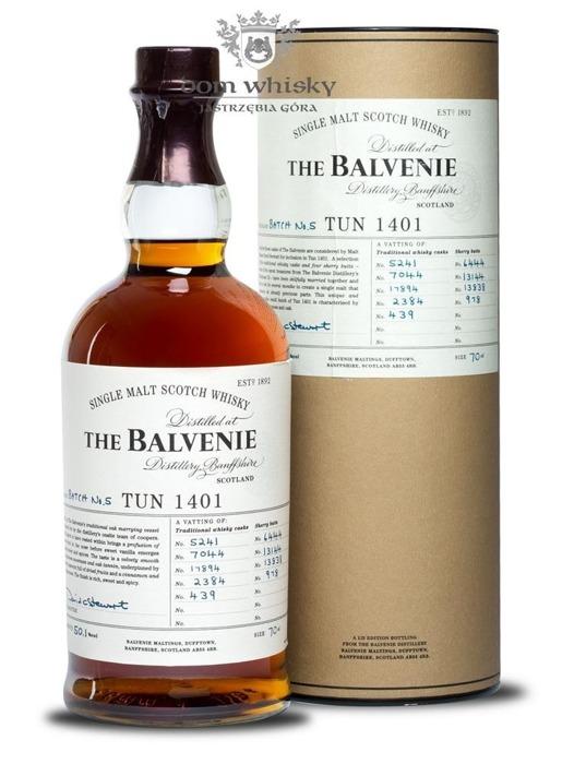 Balvenie TUN 1401, Batch No. 5 / 50,1% / 0,7l