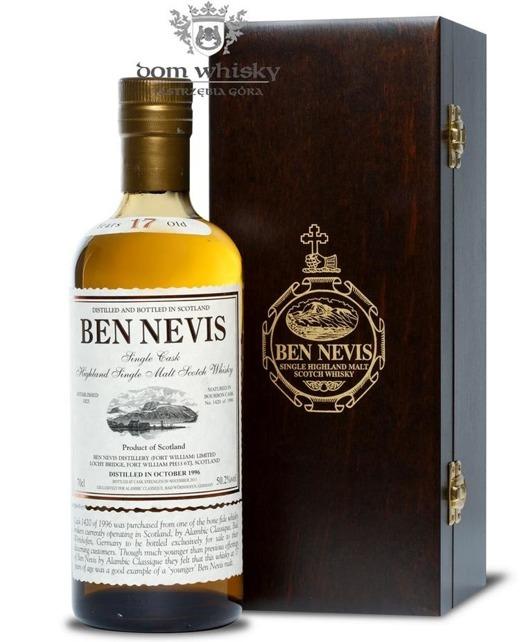 Ben Nevis 17-letni (D.1996 B.2014) Bourbon Cask / 50,2% / 0,7l