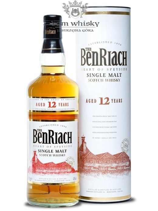 BenRiach 12-letni / 43% / 0,7l