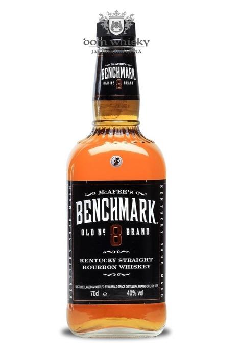 Benchmark 8-letni Straight Bourbon / 40% / 0,7l