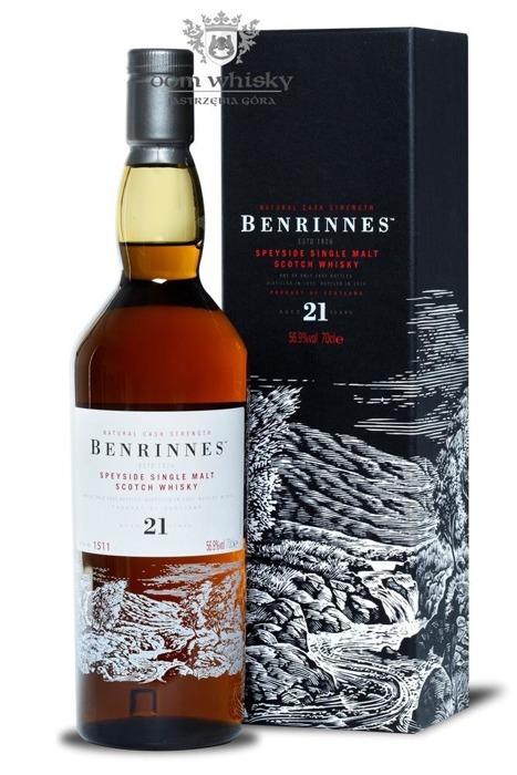 Benrinnes 21-letni (D.1992, B.2014) / 56,9% / 0,7l