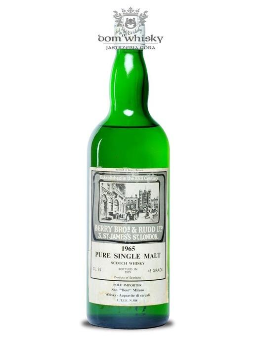 Berry Bros & Rudd Pure Single Malt, D.1965 / 43% / 0,75l