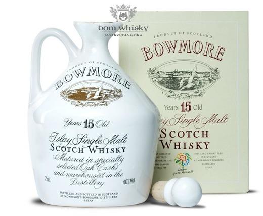 Bowmore 15-letni (Kamionka) / 40% / 0,75l