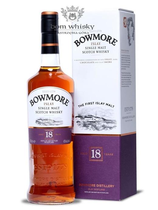 Bowmore 18-letni / 43% / 0,7l