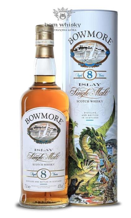 Bowmore 8-letni (Dragon Tube) / 40% / 0,7l
