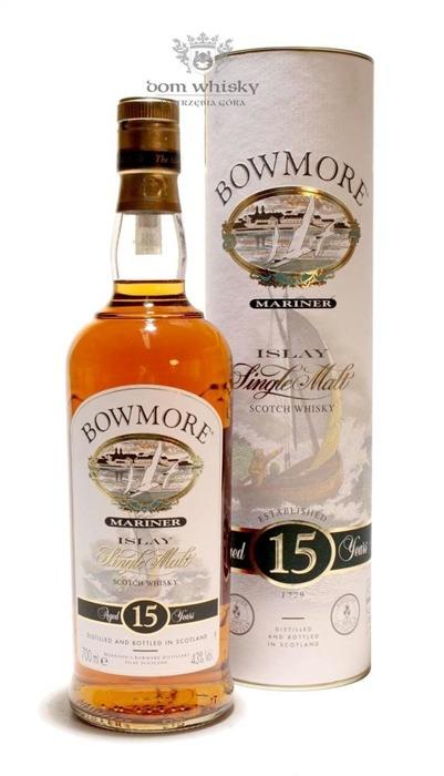 Bowmore Mariner, 15-letni / 43% / 0,7l