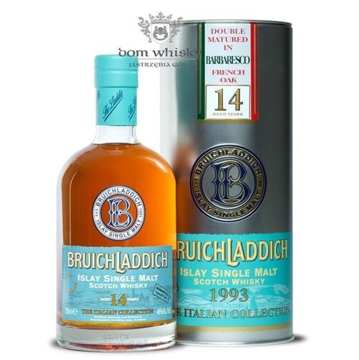 Bruichladdich 14 letni 1993 Barbaresco French Oak / It /46%/0,7l