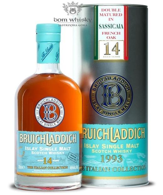 Bruichladdich 14 letni 1993 Sassicaia French Oak / It /46%/0,7l