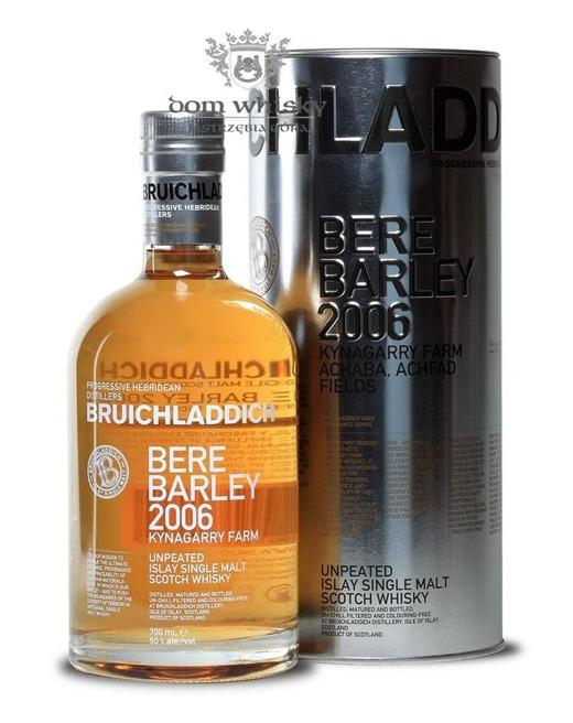 Bruichladdich Bere Barley 2006 / 50% / 0,7l