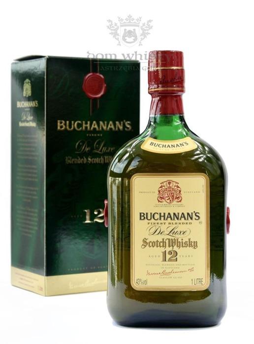 Buchanan's 12 letni Blended Whisky / 43% / 1,0l