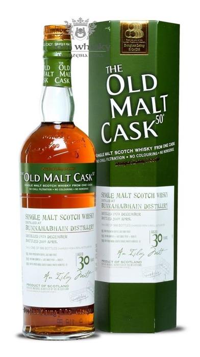Bunnahabhain 30-letni (D.1978, B.2009) Old Malt Cask / 50% / 0,7