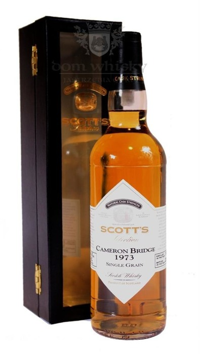 Cameron Bridge 1973 Scotts Single Grain / 41,4% / 0,7l