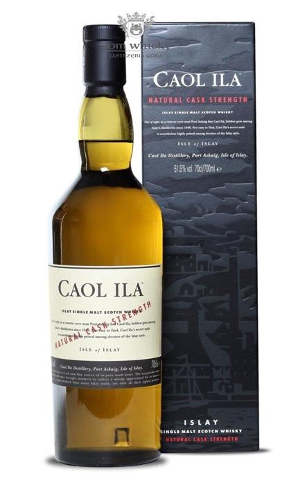 Caol Ila Natural Cask Strenght (B.2008) / 61,6% / 0,7l