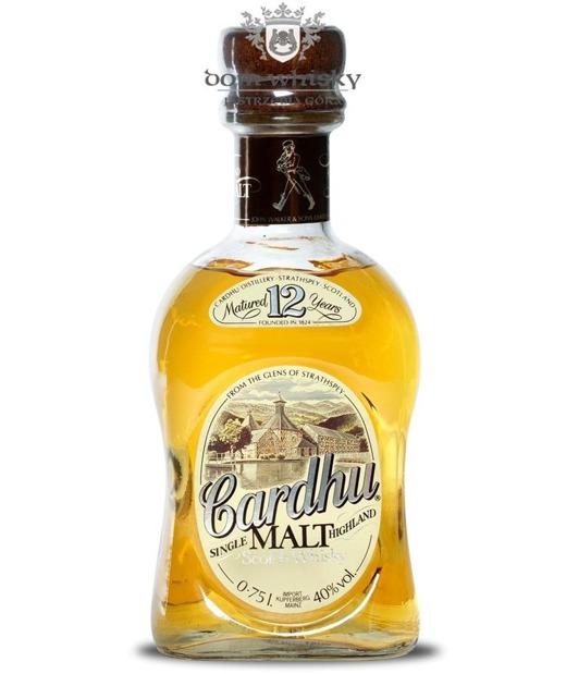 Cardhu 12-letni (Bottled by John Walker & Sons) /40%/0,75l