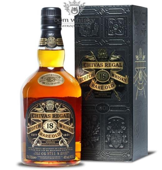 Chivas Regal 18-letni Rare Old Limited Bottling / 40% / 0,7l