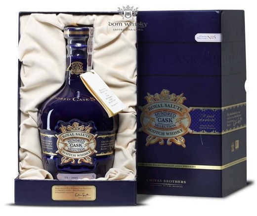 Chivas Royal Salute Hundred Cask Selection No 5 / 40% / 0,7l