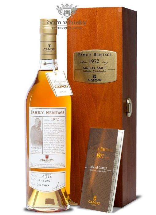 Cognac Camus Family Heritage 1972 / 43% / 0,7l