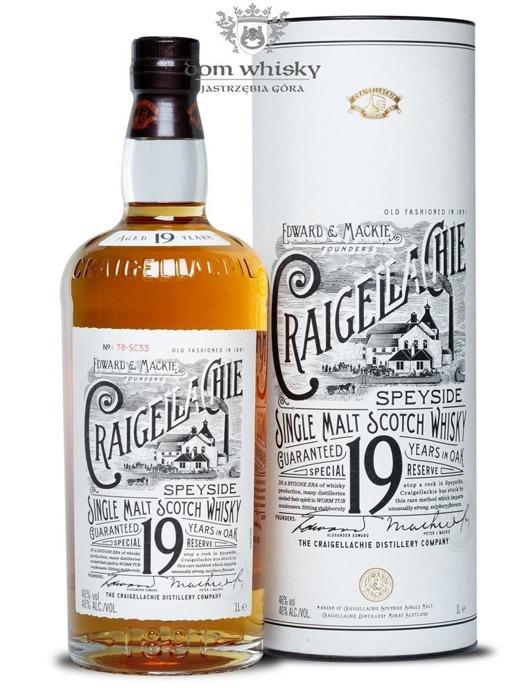 Craigellachie Special Reserve 19-letni / 46% / 1,0l
