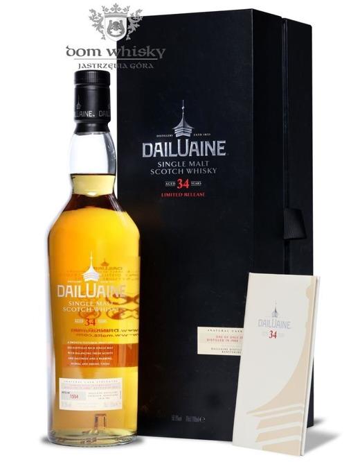 Dailuaine 34-letni, (D.1980, B.2015) Limited Release /50,9%/0,7l
