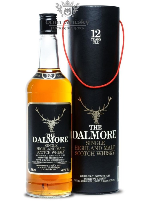 Dalmore 12-letni (Bottled 1980s) / 43% / 0,75l