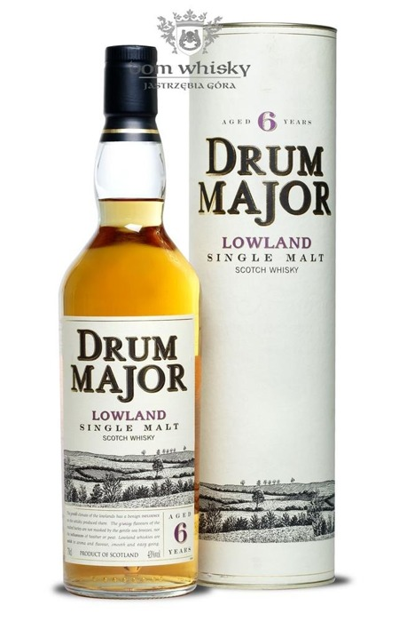 Drum Major 6 letni Lowland Single Malt / 43% / 0,7l