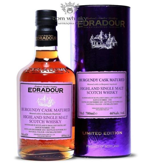 Edradour 2003 (Bottled 2010) Burgundy Cask Matured / 46% /0,7l