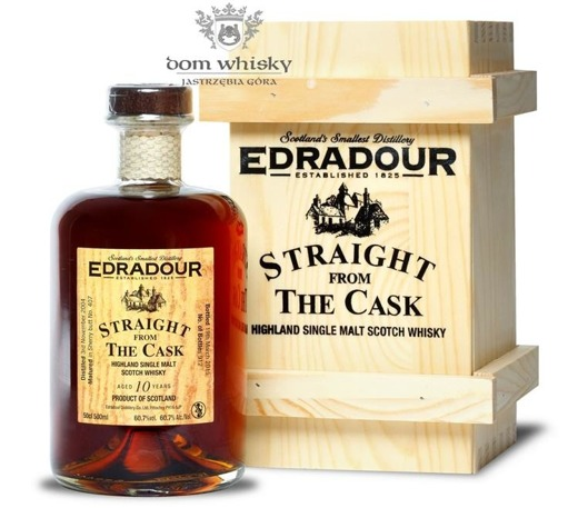 Edradour 2004, 10-letni Straight From The Cask (Sherry)60,7%/0,5