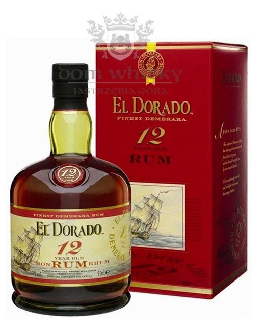 El Dorado Rum 12 letni (Guyana) / 40% / 0,7l